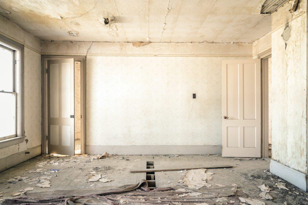 Herrenloses Haus - Sanieren