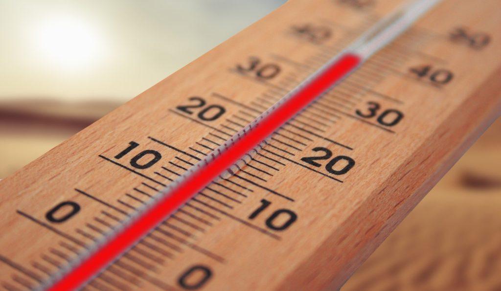 Arbeitstemperatur - Hitze