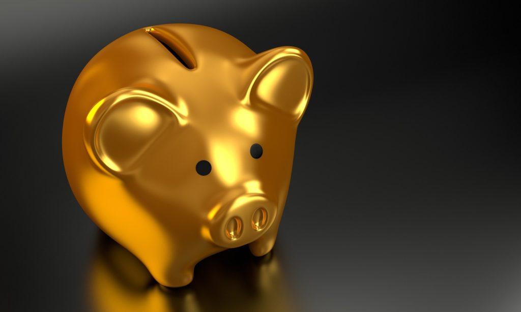 Sparschwein bei Inflationsschutz