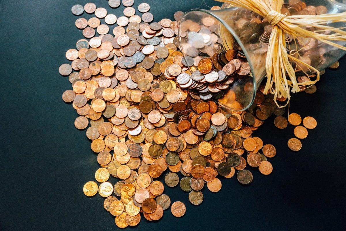 Kleingeld einzahlen