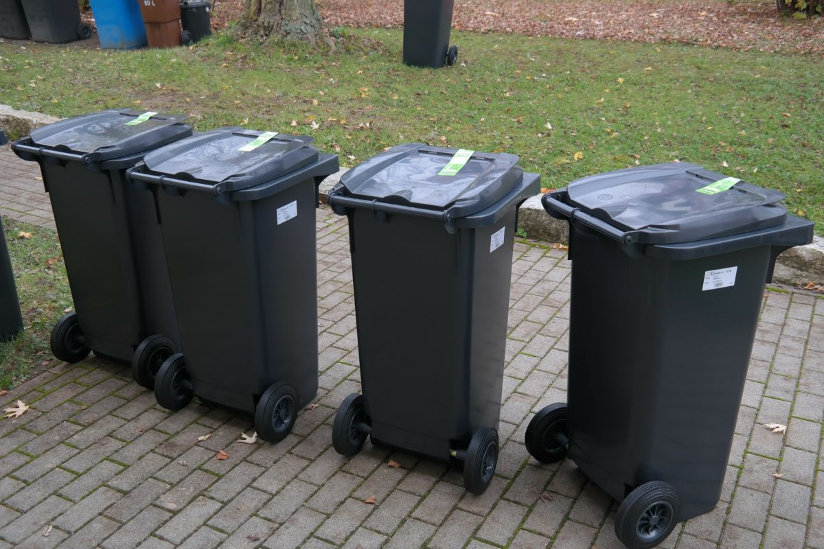 Anzahl Mülltonnen Mehrfamilienhaus